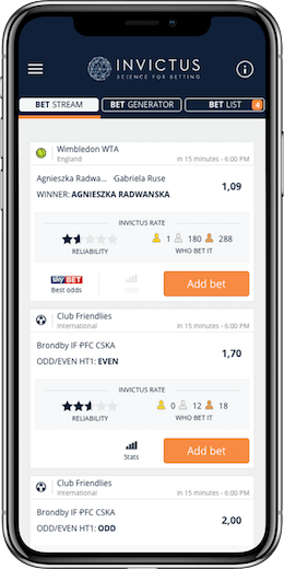 CREATE UNLIMITED WINNING BETS